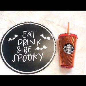 Rare limited Edition Starbucks Halloween Tumbler!